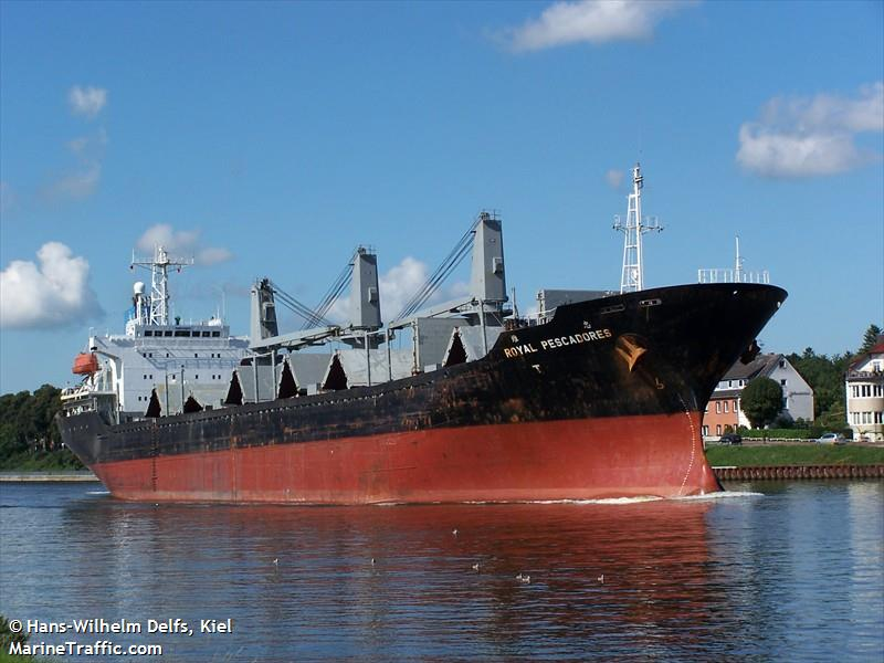 MV ROYAL PESCADORES - CATHY OCEAN